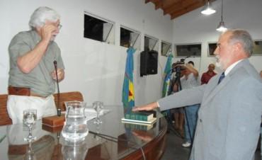 ASUMIERON LOS CONCEJALES. JORGE GARCIA PRESIDE EL CUERPO DELIBERATIVO.