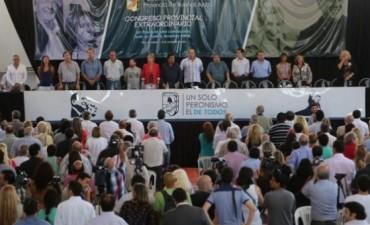 EL PJ LOCAL PRESENTE EN EL CONGRESO DEL PERONISMO PROVINCIAL