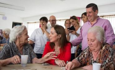 NÉSTOR ÁLVAREZ RECIBIÓ A LA GOBERNADORA VIDAL