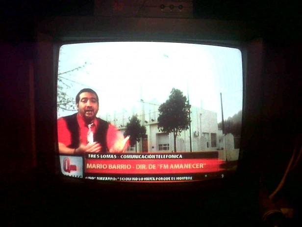TRES LOMAS Y ESTA PAGINA WEB EN LA TELEVISION PROVINCIAL CON EL PATO GALVAN