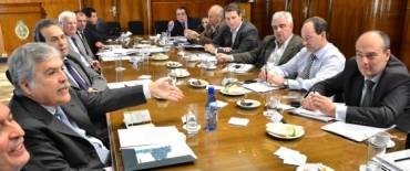 GESTIONES DE ALVAREZ EN EL MINISTERIO DE PLANIFICACION FEDERAL