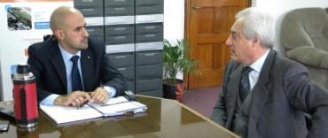 GESTIONES DE CATTANEO EN EL MINISTERIO DE INFRAESTRUCTURA