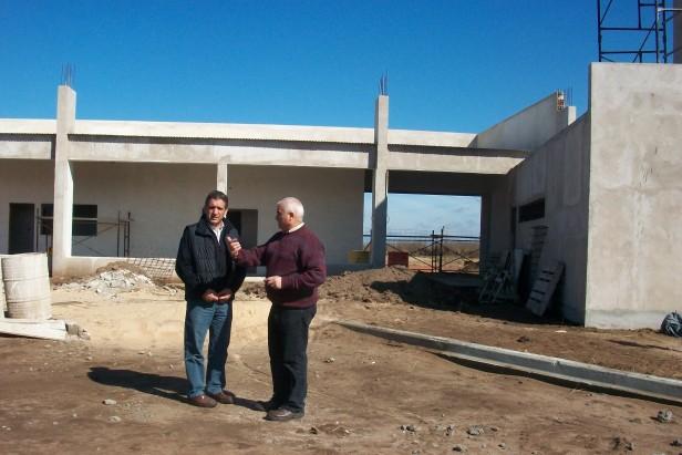 CARABELLI Y ZAPATA RECORRIERON LAS OBRAS EN CONSTRUCCION