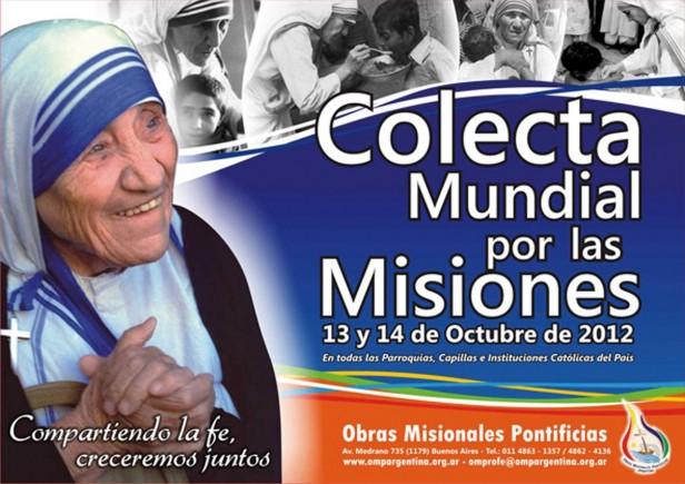 COLECTA MUNDIAL POR LAS MISIONES por Padre Carlos Mateos