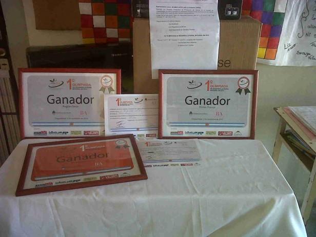 VARIOS PREMIOS PARA EL GANADOR DE LAS OLIMPIADAS RURALES