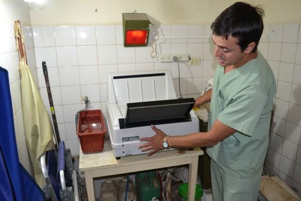 EL HOSPITAL INCORPORO EQUIPAMIENTO PARA LA SALA DE RAYOS