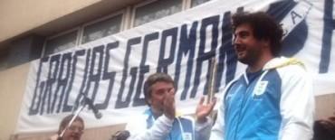 """GERMÁN LAURO: """"NUNCA ME VOY A CANSAR DE DECIR QUE SOY DE ESTA CIUDAD"""""""