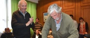 JORGE CARRERA ASUMIO COMO INTENDENTE INTERINO