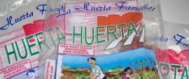 ENTREGAN SEMILLAS PARA HUERTAS DE PRIMAVERA-VERANO