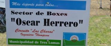 LOS BOXES DEL CIRCUITO LLEVAN EL NOMBRE DE