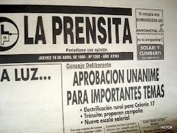LA PRENSITA CUMPLE 50 AÑOS DE VIDA