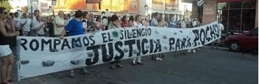 MARCHA POR EL ESCLARECIMIENTO DE LA MUERTE DE POCHO FARIAS