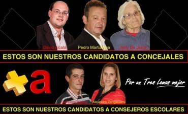 EL FRENTE RENOVADOR PRESENTO CANDIDATOS Y LANZO SU CAMPAÑA