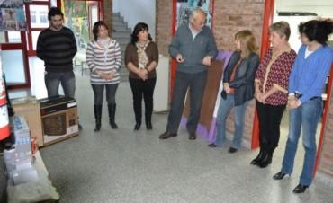 EL CENS RECIBIO IMPORTANTES ELEMENTOS