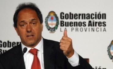 EL GOBERNADOR SCIOLI VISITA GUAMINI PARA LICITAR EL GASODUCTO CASEY-BONIFACIO-GUAMINI