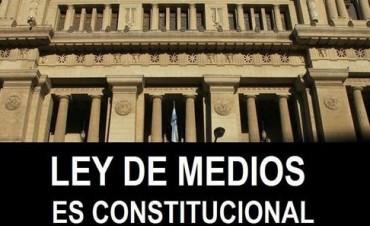 LEY DE MEDIOS - MENSAJE DEL GOBIERNO MUNICIPAL